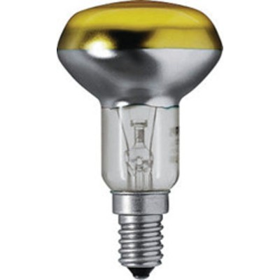 Лампа 40W Reflector Colours 40W E14 230V NR50 CL-YE 1CT PHILIPS