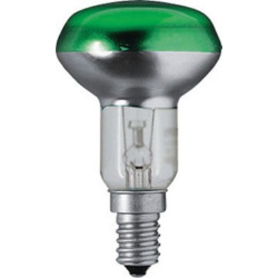 Лампа 40W CONCENTRA ®  SPOT COLOR R50 GREEN 40 OSRAM