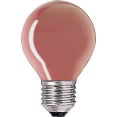 Лампа DECOR P45 CL 10W E27 RED (230V) (S101) FOTON красная